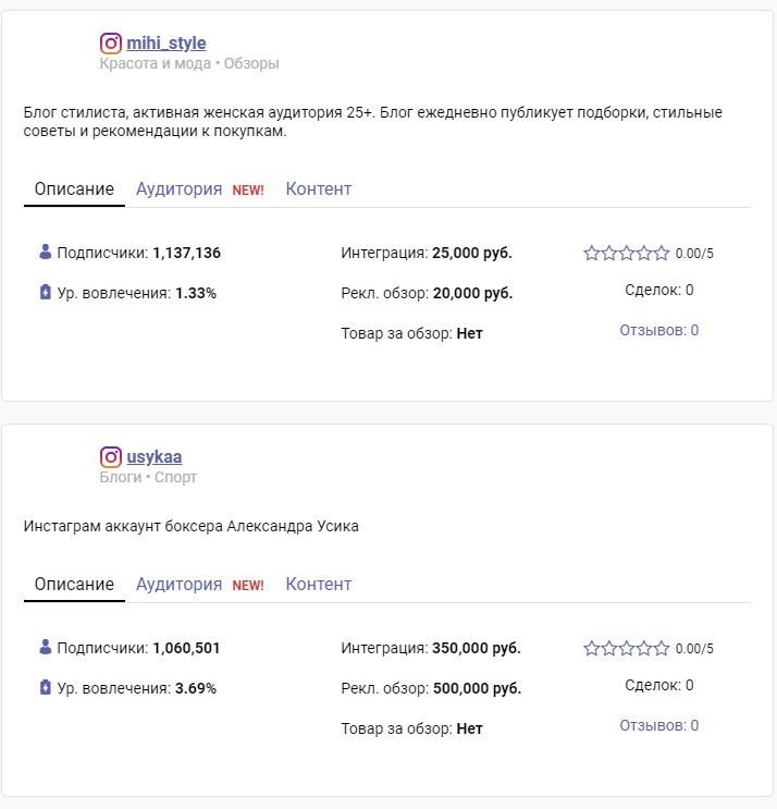 ТОП-10 бирж блогеров Инстаграм + 10 лайфхаков по работе с инфлюенсерами
